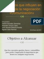 124732132-Elementos-que-influyen-en-el-exito-de-la-negociacion-«Comunicacion»