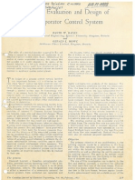 1972 Statistical Evaluation and Design of an Evaporator Control System