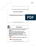 11b Security Patterns Notes
