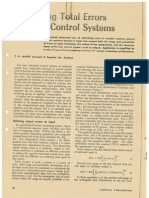 1963 Estimanting Total Errors in Large Control Systems