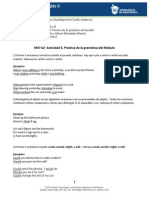MII-U2- Actividad 3. Práctica de la gramática del Módulo III Julia Alejandra Guadalupe Del Castillo Sandoval A07105165