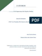 Guia de Estudos- CSNU