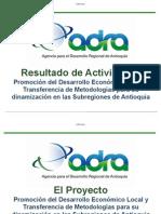 ADRA-Informe de Result a Dos Proyecto PACA-DRA. DIANA