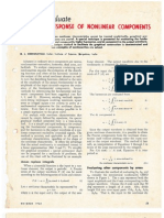 1963 Harmonic Response of Nonlinear Components