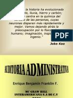 CONFERENCIA AUDITORIA