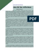 Arnaldo Córdova. El dilema de las reformas.pdf