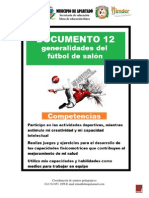 Documento Furbol de Salon PDF