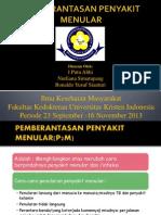 PEMBERANTASAN PENYAKIT MENULAR(P2M).ppt