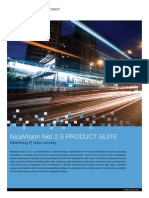 NiceVision Net 2.5 Product Suite Brochure