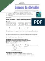 guias y fichas matematica division4º