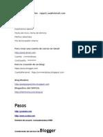 Datos Blogs