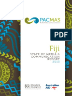 Fiji PACMAS Country Report