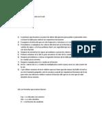 Pasos para realizar la función en Excel