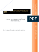 Tabla de Distribuci n de Frecuencias