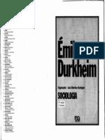 Algumas Formas Primitivas de Classificac3a7c3a3o - Durkheim1