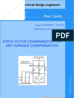 Static FC/TCR compensator