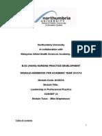 AC684module Handbookcohort Cohort 25 February 2013
