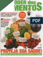 Revista - O Poder Dos Alimentos - 2010