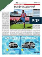 Lionel Messi El Prototipo de Jugador Total