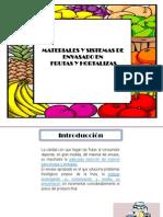 Materiales y Sistemas de Envasado en Frutas y Hortalizas