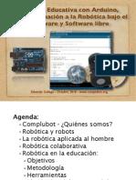 2 Robótica Educativa con Arduino,