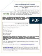 Earth Day Network Grant Program