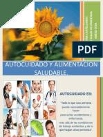 AUTOCUIDADO ALIMENTACION SALUDABLE