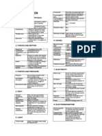 SPM Physics definitions