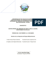 Diagnóstico Santa Clara la Laguna