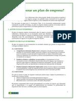 Guia Elaboracion Plan de Empresa