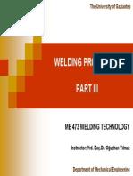 Welding Processes Part 3