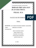 Derecho Economico Aplicado en El Codigo Civil Peruano