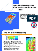 Round-Robin Study of Fire Modelling using Dalmarnock.ppt