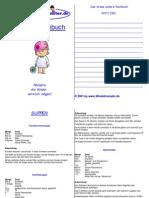 Kinderkochbuch (16 Rezepte)