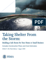 FEMA Taking Shelter From The Storm