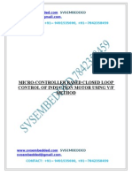 72.MICRO-CONTROLLER BASED CLOSED LOOP CONTROL OF INDUCTION MOTOR USING VF METHOD.DOC