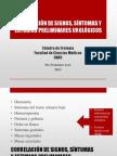 Correlación de signos, síntomas y estudios preliminares urológicos