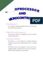 EC 1362 Microprocessor and Microcontroller