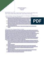 meeting summary sep 17 2013
