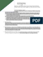 ild meeting summary oct 7 2013