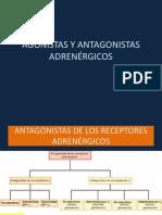 ANTAGONISTAS ADRENÉRGICOS.