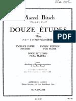 Bitsch, M. 12 Estudios Ed. Leduc