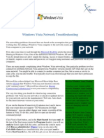 Windows Vista Network Troubleshooting