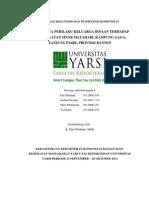 Laporan Diagnosis Dan Intervensi Komunitas Dr Dini
