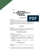 Reglamento de Admision, Renuncia y Reingreso de Socios