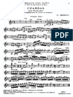 czardas violín