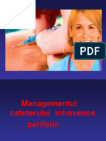 Presentation1 branule Managementul iv periferic.