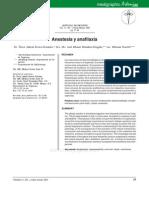 anestesia y anafilaxia