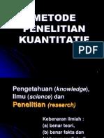3Penelitian Kuantitatif