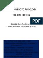 Radiology Teaching Photo Thorax
